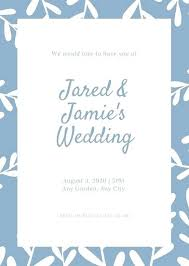 wedding invitation templates free download word printable as