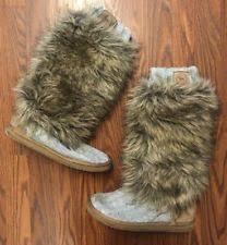s yeti boots s secret s pull on mukluks yeti boots ebay
