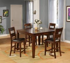 ellis modern solid mango wood dining table walker u0027s furniture