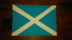 Green Day Flag St Andrews Day Flag Activity Montessori Inspired