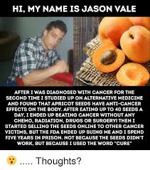 Hi My Name Is Meme - hi my name is jason vale after i was diagnosed with cancer for the