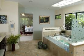 Tile Accent Wall Bathroom Tile Accent Wall Bathroom Tropical With Frosted Glass Soaking Tub