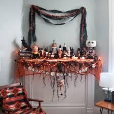 Halloween Room Decoration - ideas spooky mantel design ideas with halloween theme to make