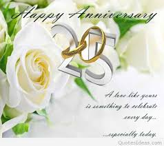 Marriage Day Quotes Happy 25rd Marriage Anniversary Quotes Wishes On Pics