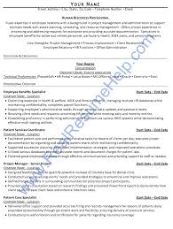 Human Resource Resumes Hr Resume Examples Human Resources Resume Graham Sample