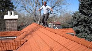 Concrete Tile Roof Repair Walking On Roof Tiles