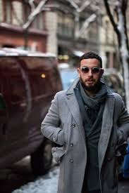 men u0027s grey pea coat navy double breasted blazer charcoal scarf