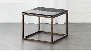 Rattan Side Table Du Monde Rattan Side Table In Side Tables Reviews Cb2
