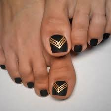 best 25 gold toe nails ideas on pinterest pedicure designs