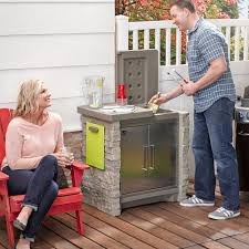 Patio Table Cooler by Stonefront Patio Collection Cooler U0026 Storage Outdoor Storage By