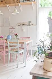 Pastel Dining Chairs My Home On Made Unboxed White Painted Floors White Paints