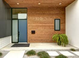 Blue House Orange Door Peek Inside 13 Exciting Abodes From The Austin Modern Home Tour