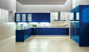 modern blue kitchen design outofhome