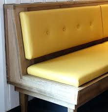 Modern Dining Bench With Back Modern Dining Bench With Back Full Image For Excellent High Back