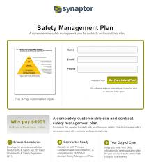 contractor safety program template food safety specialist sample