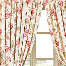 paoletti ascot pencil pleat lined curtains floral ebay