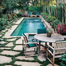 Grass For Backyard Ideas Liking The Look Of This Shaggy Grass Between The Patio Stones U2026 And