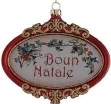 italian decorations buon natale ornament