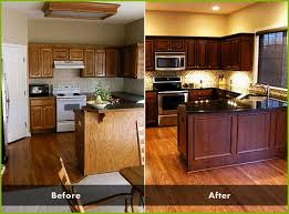 restaining cabinets darker without stripping staining kitchen cabinets darker without sanding beautiful how to