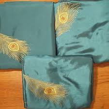 Peacock Curtains Find More Pier 1 Peacock Feather Curtains For Sale At Up To 90