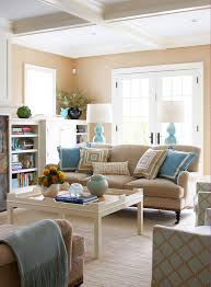 Turquoise Living Room Decor Beige Sofa Design Ideas