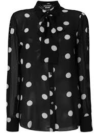 black polka dot blouse 495 boutique moschino polka dot blouse buy fast