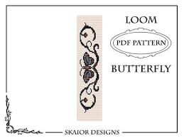 bracelet designs tattoo images Loom bead pattern bracelet butterfly bracelet tribal tattoo etsy jpg