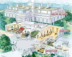 president s park white house white house tour diagram of room visited on the white house tour click to enlarge