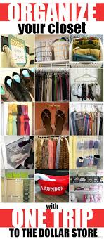 how to organise your closet organize your closet with one trip to the dollar store mad in crafts