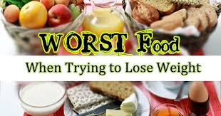 10 foods to avoid when trying to lose weight www ladylifehacks com