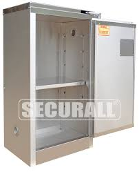 securall stainless steel storage cabinets for flammables and