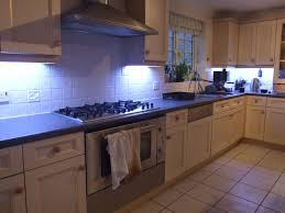 How To Install Under Cabinet Lighting by How To Fit Led Kitchen Lights With Fade Effect 7 Steps With