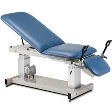 massage table with stirrups clinton multi use ultrasound power table with stirrups medical