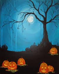 creepy crimson sky halloween background moonlight mischief jpg