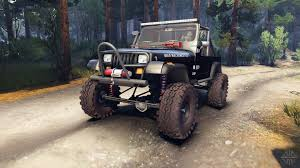 jeep matte maroon jeep yj 1987 open top black for spin tires
