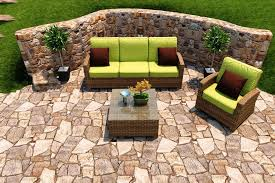 Patio Loveseat Cushion Patio Loveseat Sets At Walmart House Decorations And Furniture