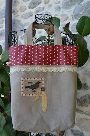 sac cabas lin sac cabas lin coton enduit petits pois rouges autres sacs par