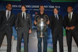Chions League Heineken Showcases Uefa Chions League Trophy In Nigeria