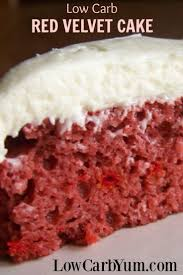 sugar free red velvet cake recipe gluten free low carb yum