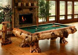 tables made from logs amazing log pool tables home design garden architecture blog