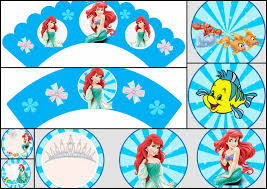 the little mermaid free printable toppers and wrappers is it