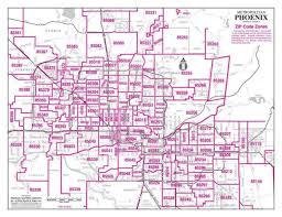Houston Tx Zip Code Map Zipcode Map Metro Phoenix Arizona Zip Code Maps Arizona Real