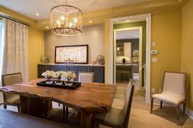 dining room in the preston model home at fieldstone in mono