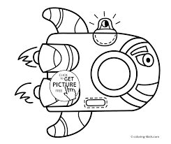 funny rocket spacecraft coloring pages for kids printable free