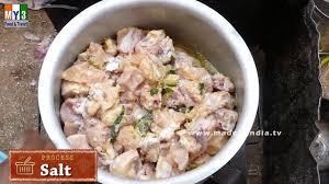andhra country chicken curry natukodi kura youtube
