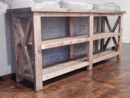 amazing of x console table with ana white rustic x end table diy