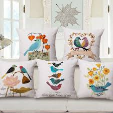 decorative pillows home goods flower and bird decorative pillows for living room home goods throw