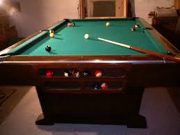 Antique Brunswick Pool Tables by 9 U0027 Brunswick Monticello