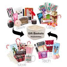 Spa Gift Basket Ideas Christmas Gift Baskets Polyvore