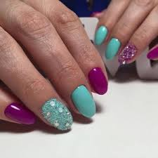 two color manicure ideas